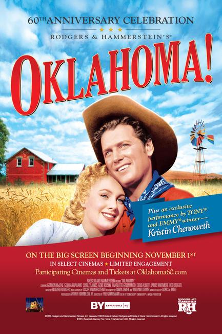 Oklahoma! 60th Anniversary Photos + Posters
