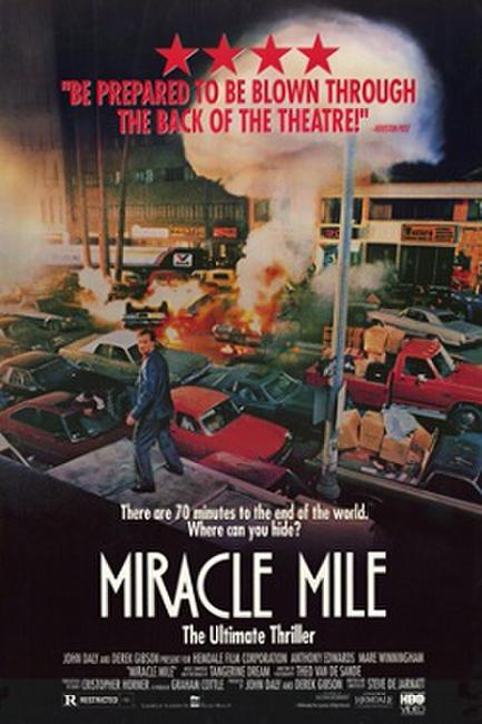 Miracle Mile with Steve De Jarnatt Photos + Posters