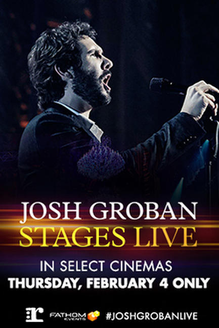 Josh Groban: Stages Live Photos + Posters