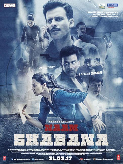Naam Shabana  Photos + Posters