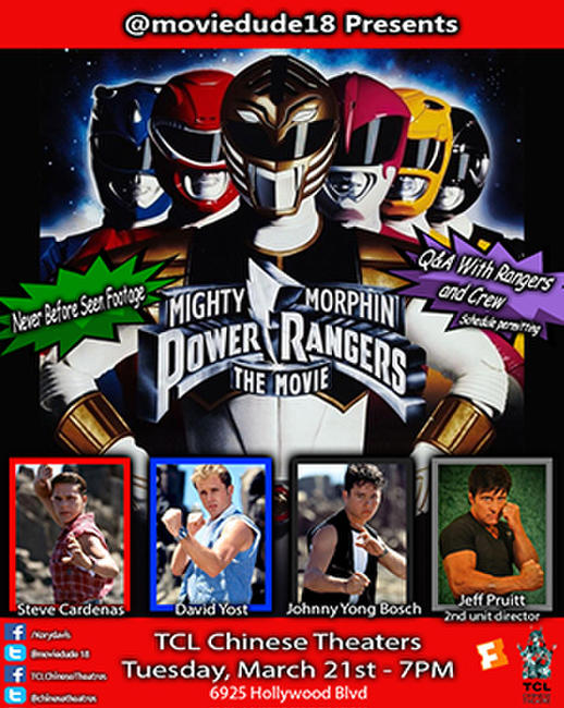 Moviedude18 presents: Mighty Morphin Power Rangers: The Movie Photos + Posters