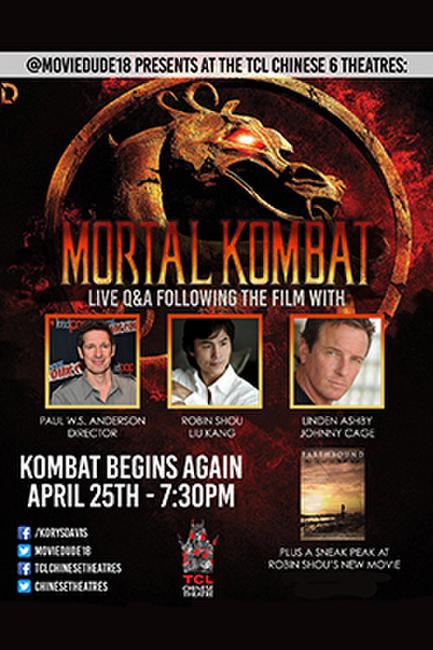 Moviedude18: Mortal Kombat I w/ Q&A Photos + Posters