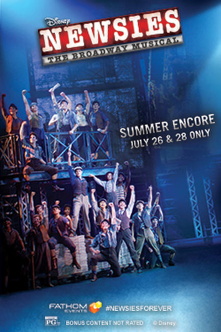 DISNEY'S NEWSIES: THE BROADWAY MUSICAL! – Summer Encore Photos + Posters