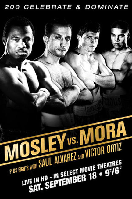 Mosley vs. Mora Fight LIVE Photos + Posters