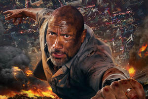 Watch Dwayne Johnson in Exclusive 'Skyscraper' Video With Director Commentary