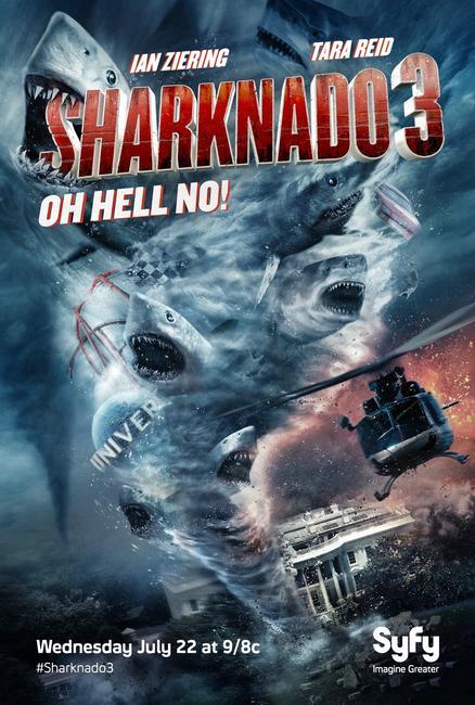 Sharknado 3: Oh Hell No! Photos + Posters