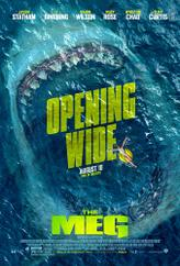 The Meg showtimes and tickets