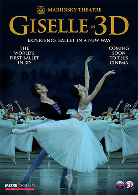 Giselle in 3D Photos + Posters
