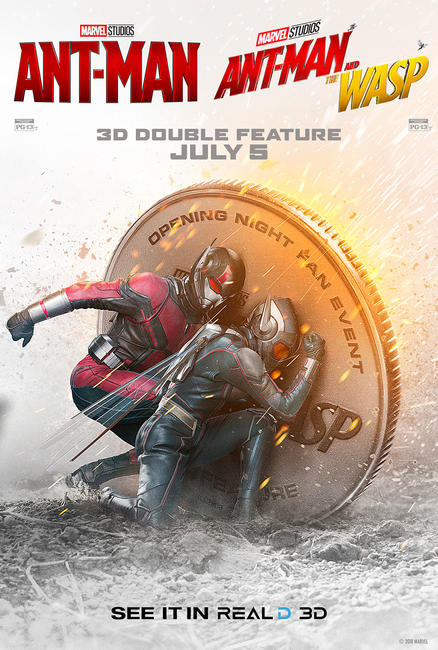 Double Feature - Ant-Man & The Wasp Photos + Posters
