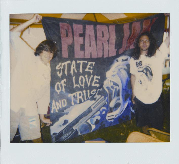 Pearl Jam Twenty Photos + Posters