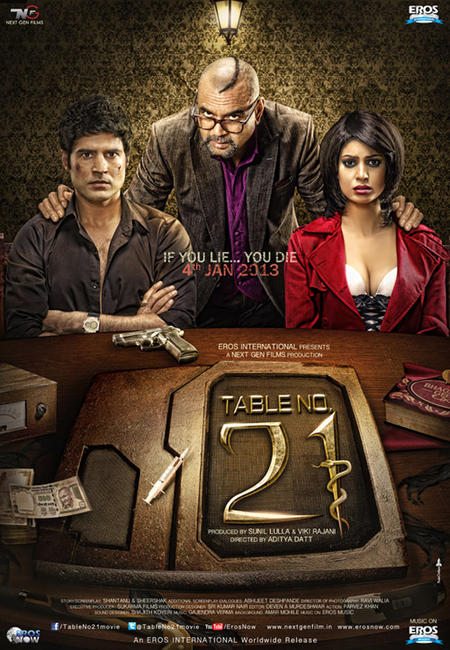 Table No. 21 Photos + Posters