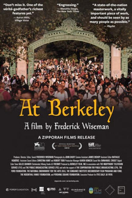 Wiseman Goes To Berkeley Photos + Posters