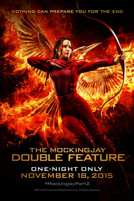The Mockingjay Double Feature Photos + Posters
