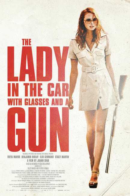 The Lady in the Car with Glasses and a Gun Photos + Posters