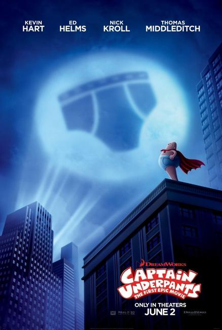 Captain Underpants: The First Epic Movie Photos + Posters
