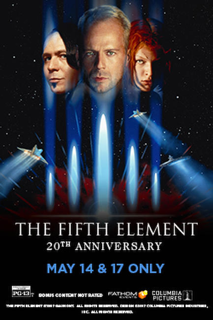 The Fifth Element 20th Anniversary Photos + Posters