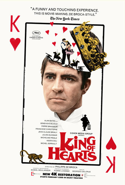 King of Hearts Photos + Posters