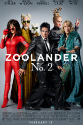 Zoolander 2 showtimes and tickets