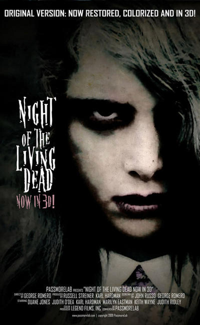 Night of the Living Dead 3D Photos + Posters