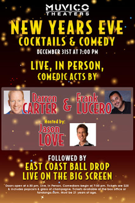 New Year's Eve Live Comedy Photos + Posters
