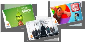 <b>Fandango Gift Cards</b>