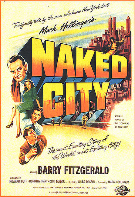 The Naked City / Never On Sunday Photos + Posters