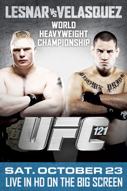 UFC 121: Lesnar vs. Velasquez Photos + Posters