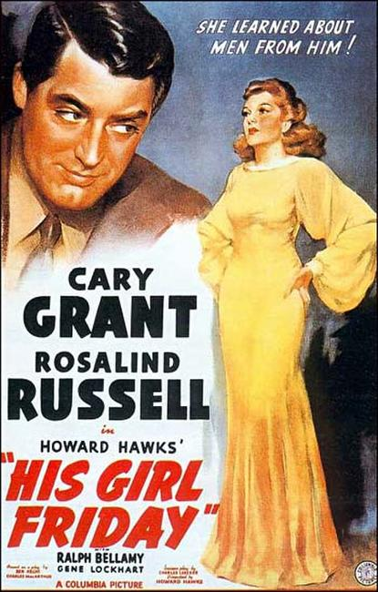 His Girl Friday / It Happened One Night Photos + Posters