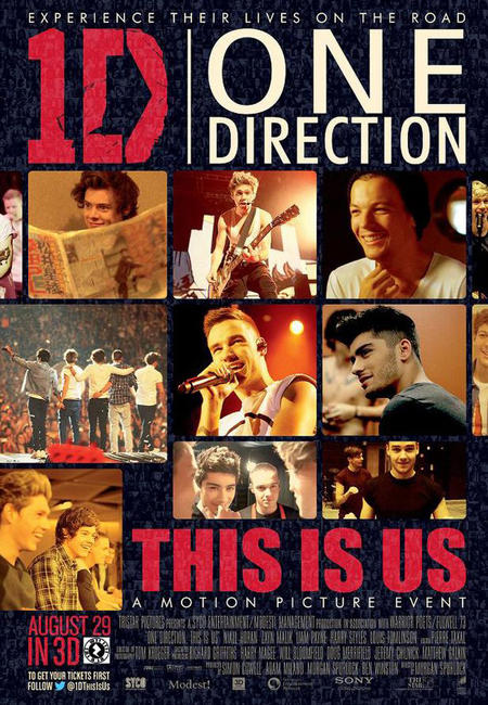 One Direction: This Is Us in 3D Photos + Posters