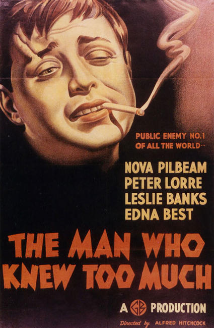 The Man Who Knew Too Much / Shadow of a Doubt Photos + Posters