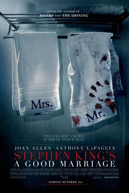Stephen King's A Good Marriage Photos + Posters