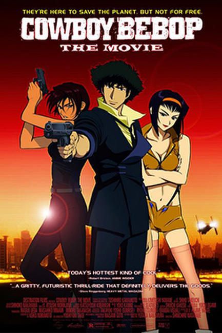 Cowboy Bebop: The Movie / Trigun: Badlands Rumble Photos + Posters