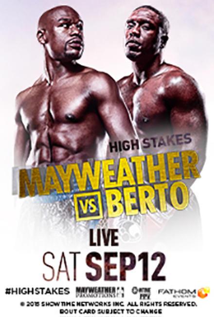 Mayweather vs. Berto Live Photos + Posters