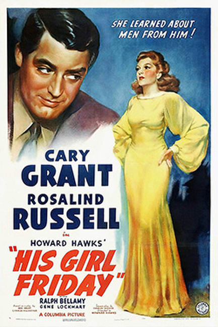 HIS GIRL FRIDAY / TOPPER Photos + Posters