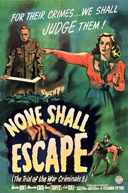 MARSHA HUNT'S SWEET ADVERSITY/NONE SHALL ESCAPE Photos + Posters