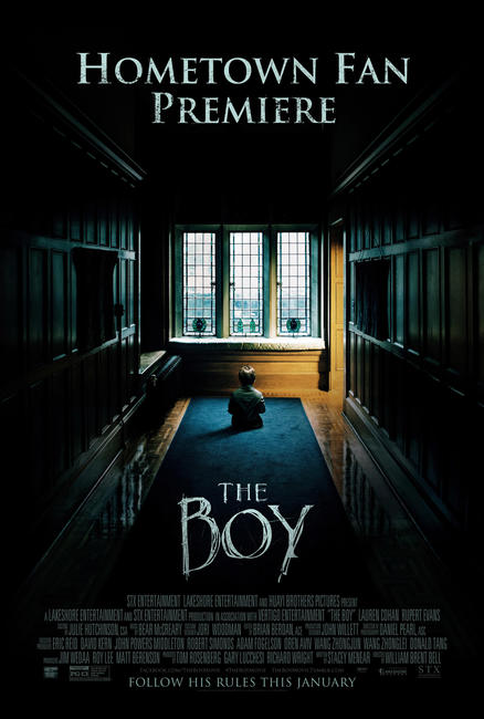 The Boy - Hometown Fan Premiere Photos + Posters