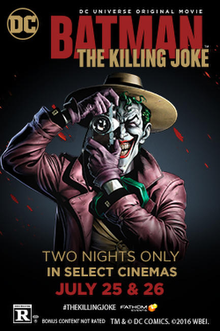 Batman: The Killing Joke Photos + Posters
