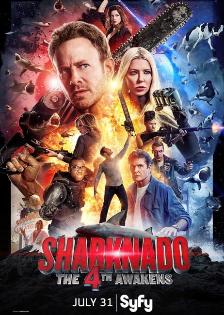 Sharknado 4: The 4th Awakens Photos + Posters