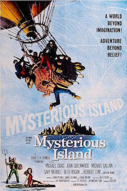 Mysterious Island/ Earth vs. The Flying Saucers Photos + Posters