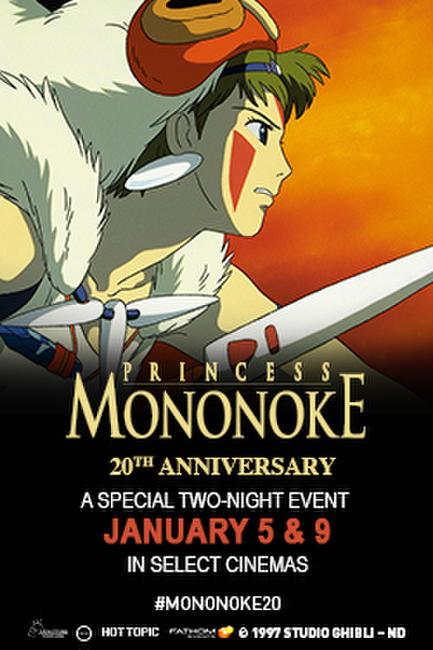 Princess Mononoke: 20th Anniversary Photos + Posters