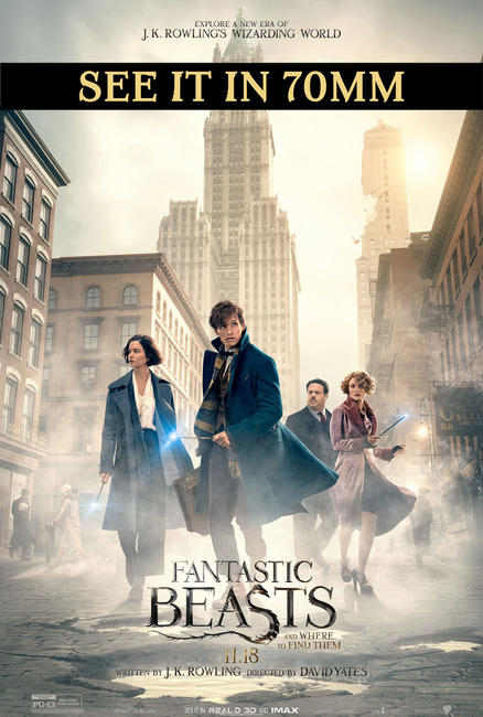 Fantastic Beasts and Where to Find Them 70mm Photos + Posters