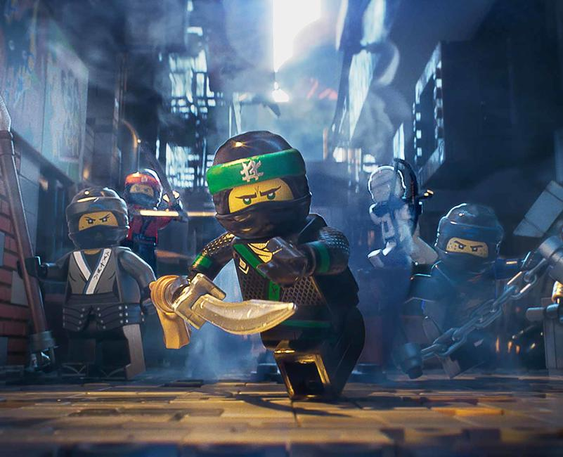 The Lego Ninjago Movie Photos + Posters