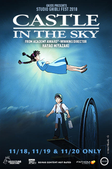 Castle in the Sky – Studio Ghibli Fest 2018 Photos + Posters