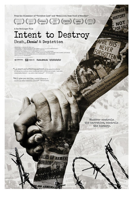 Intent to Destroy Photos + Posters