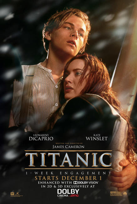 Titanic in Dolby Vision Photos + Posters