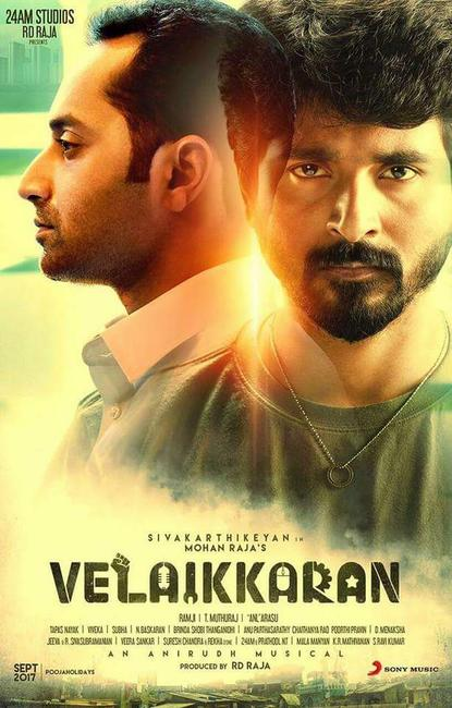 Velaikkaran Photos + Posters