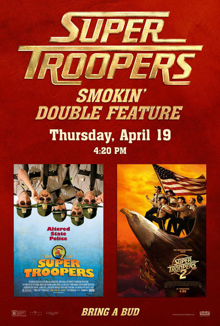 Super Troopers Double Feature Photos + Posters