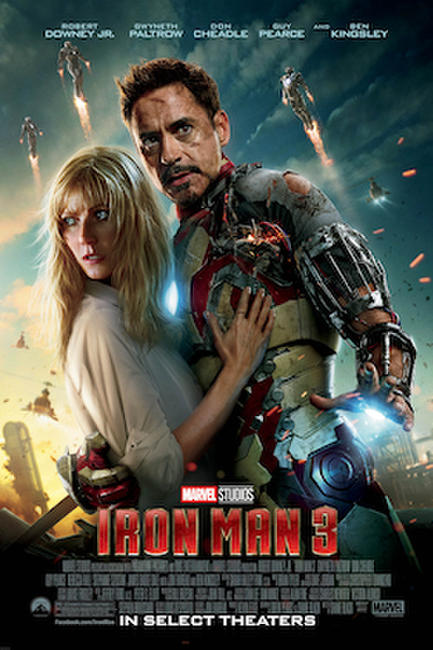 Marvel Studios 10th: Iron Man 3: An IMAX 3D Experience Photos + Posters