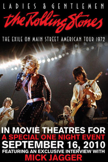 Ladies & Gentlemen: The Rolling Stones Flashback to 1972 Photos + Posters