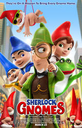 Sherlock Gnomes showtimes and tickets